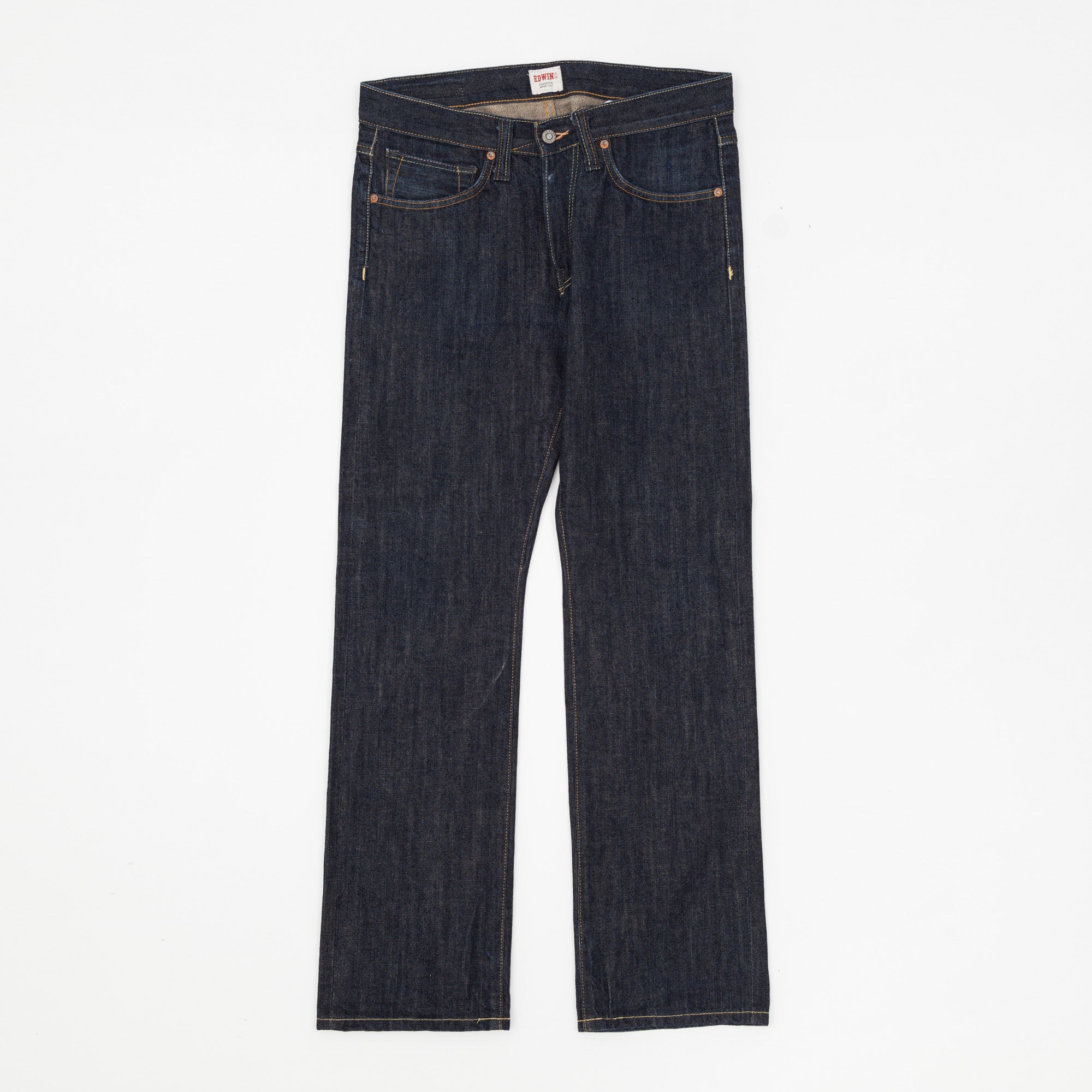 ED-47 Straight Fit Selvedge Denim