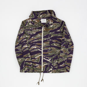 The Real McCoy's Tiger Camouflage Parka / Purple Fade