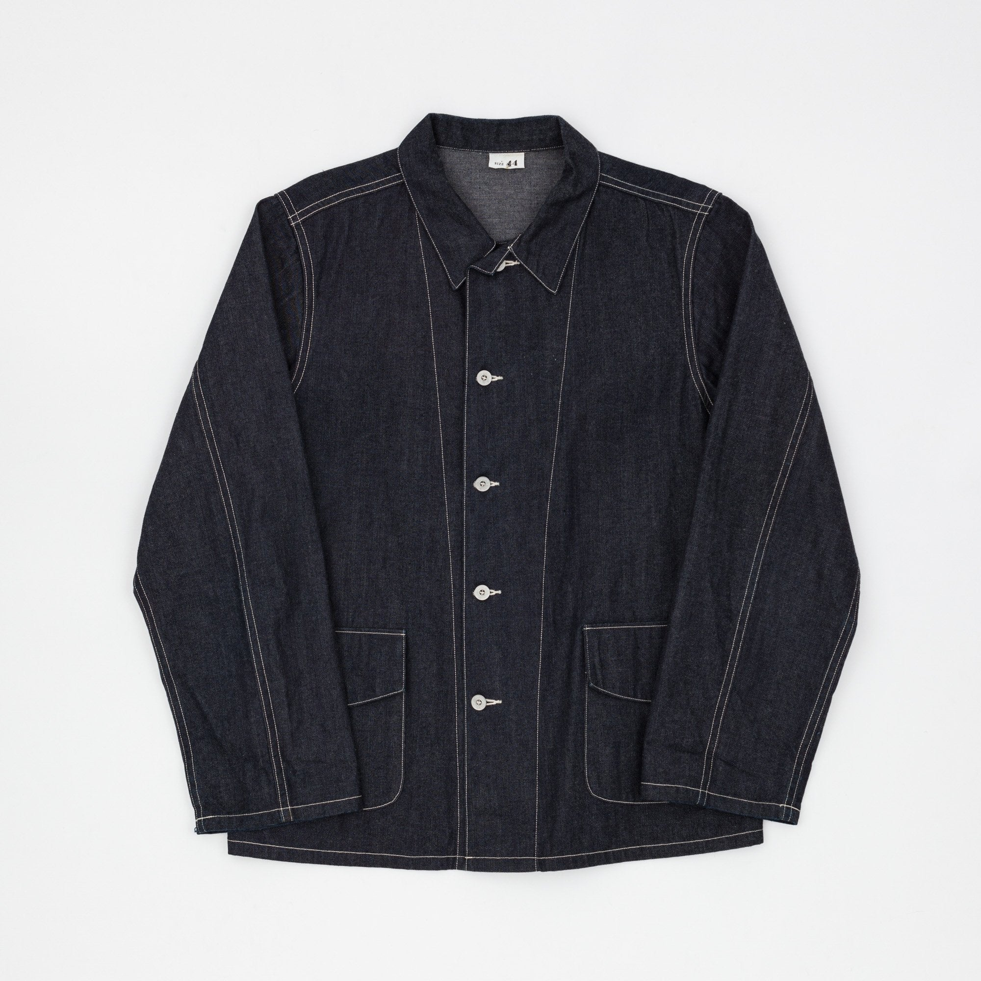 Blue Denim Work Coat