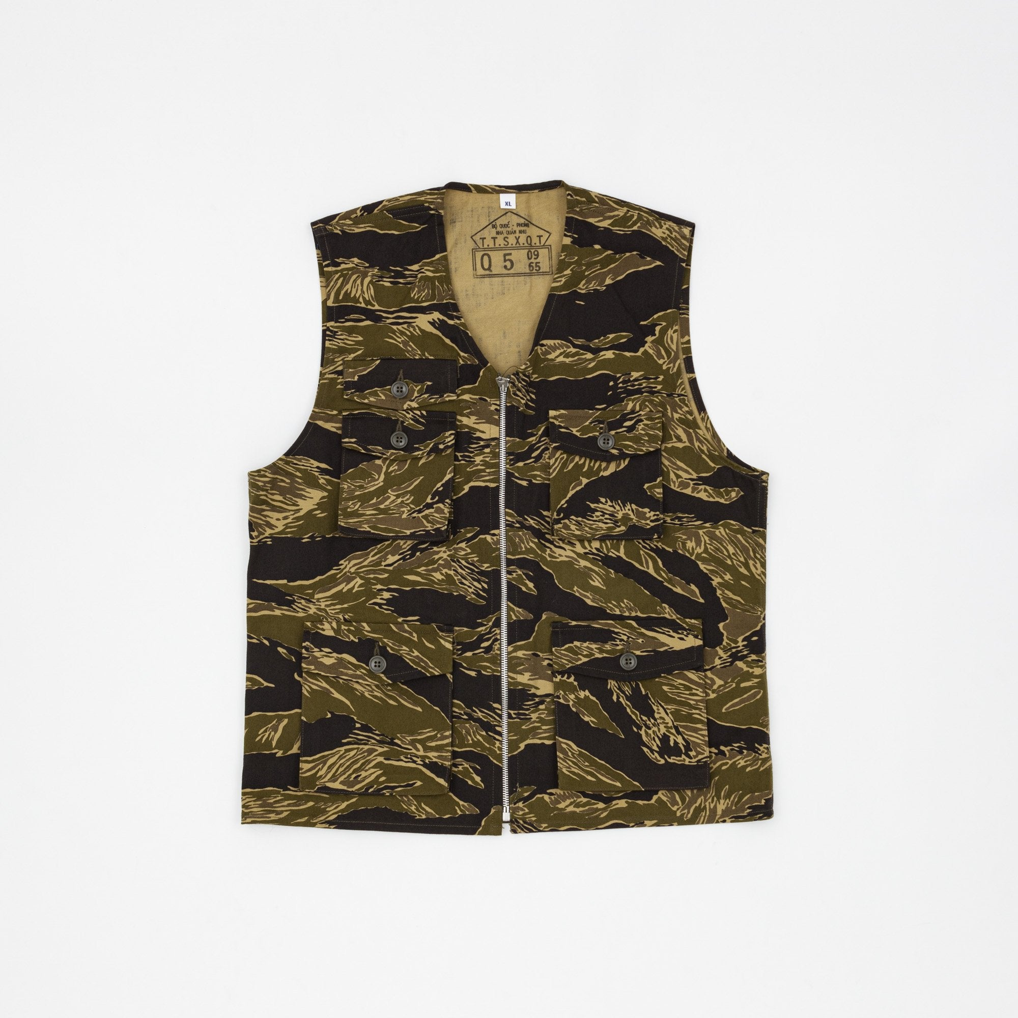 The Real McCoy's Tiger Camouflage Vest / John Wayne