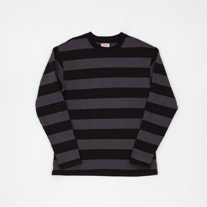 The Real McCoy's Buco Long Sleeve Striped Tee