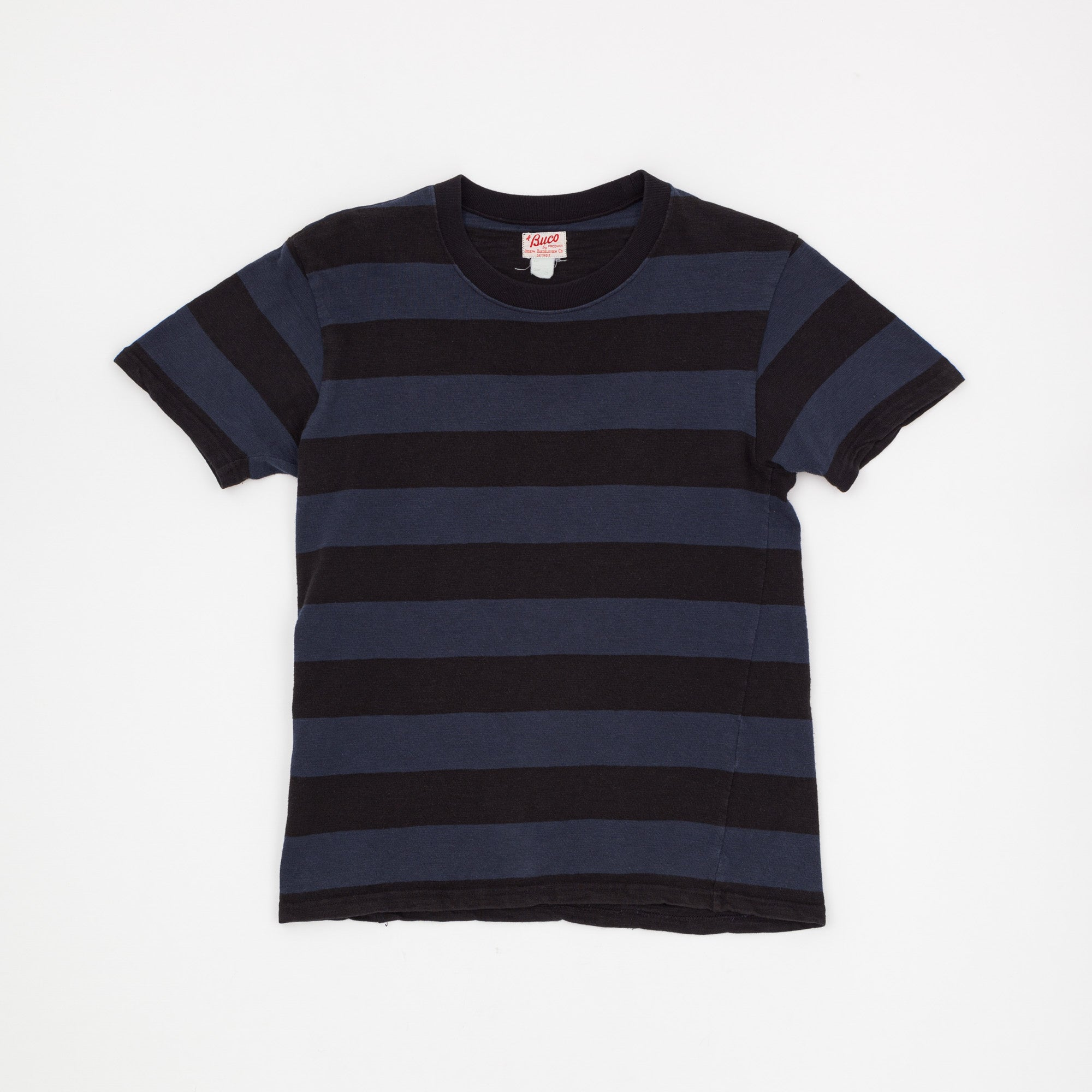 The Real McCoy's Buco 1950s Stripe T-Shirt