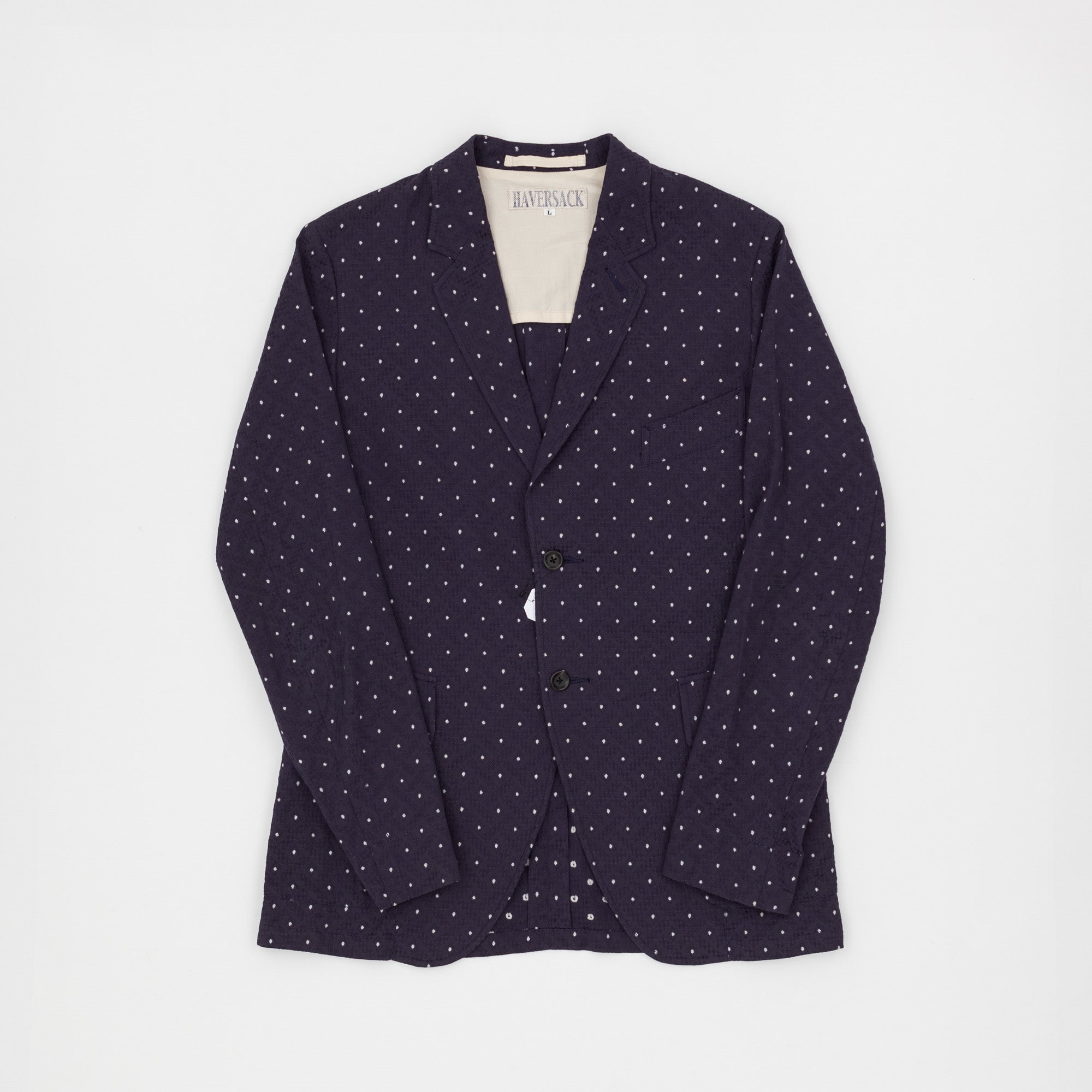 Haversack Dot Pattern Blazer