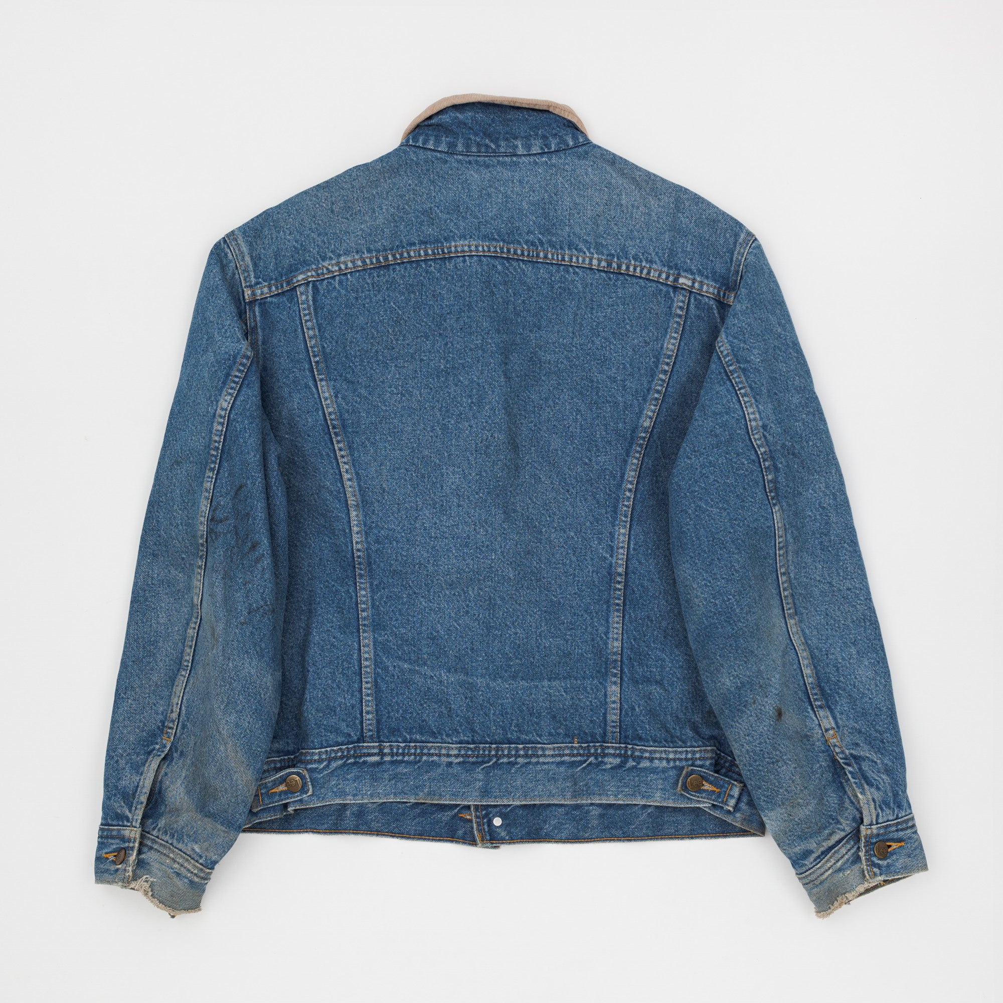 Stormrider 2 Year Wash Lined Denim Jacket
