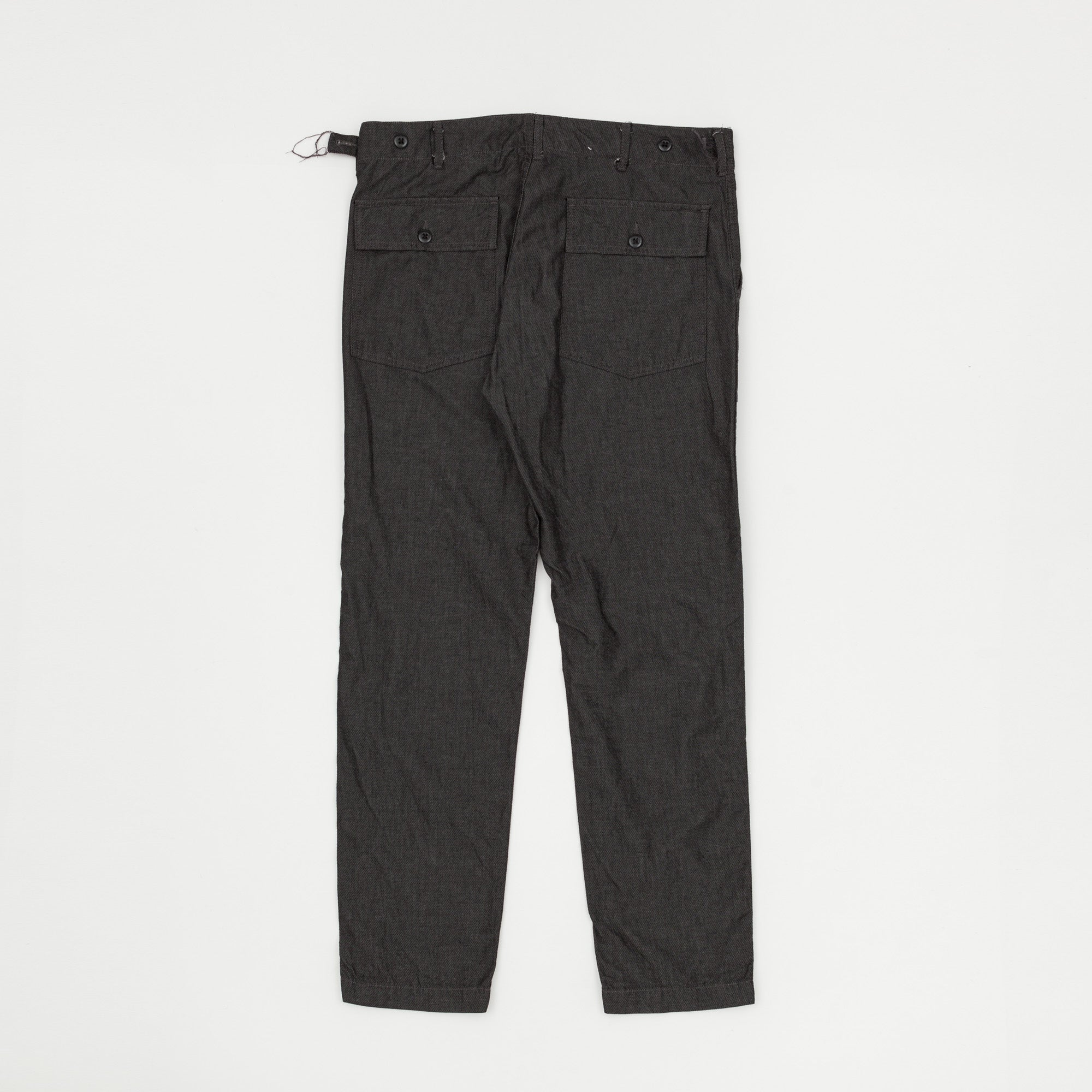 Diamond Detailed Fatigue Trousers