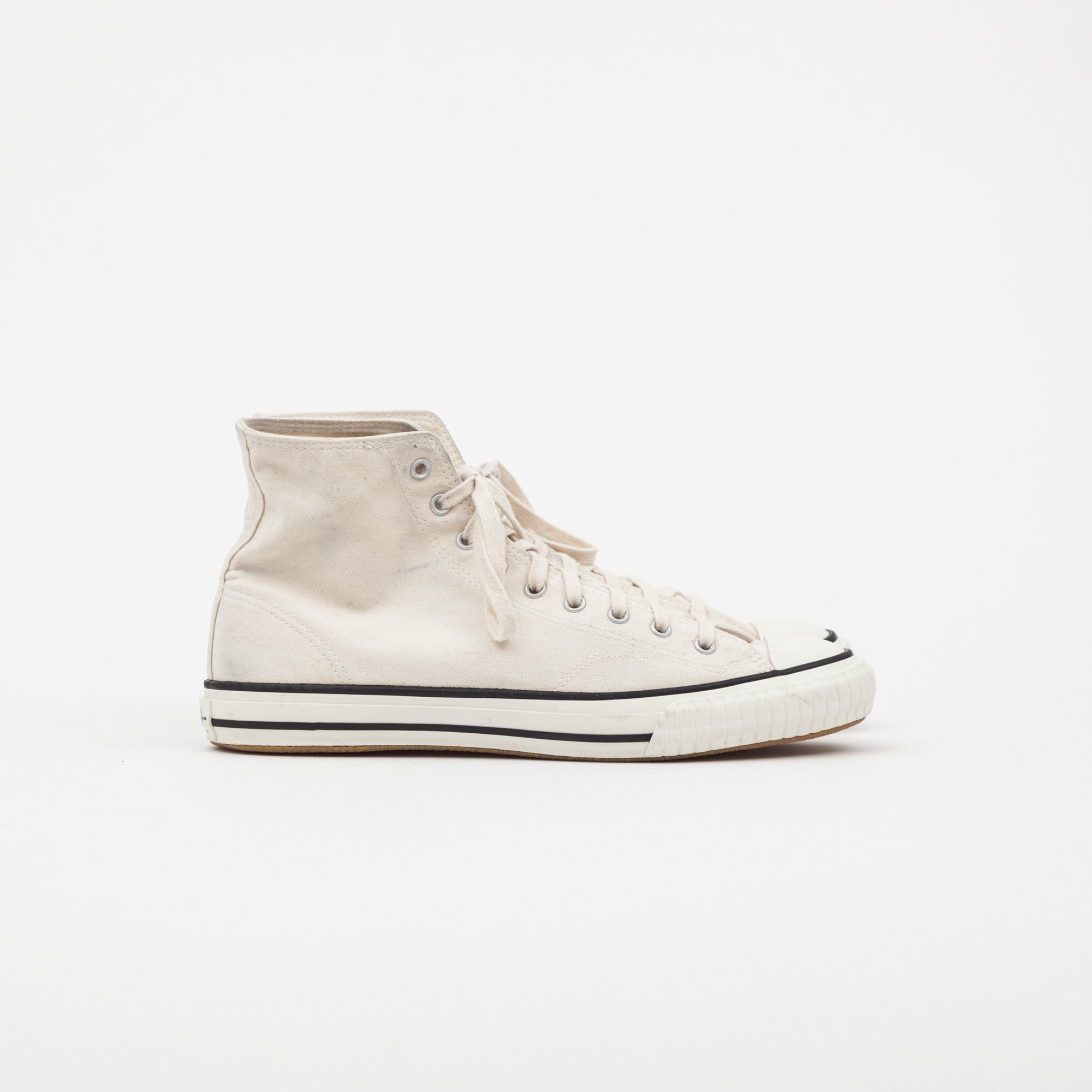 John Lofgren Self Edge Dessau High Top Sneakers