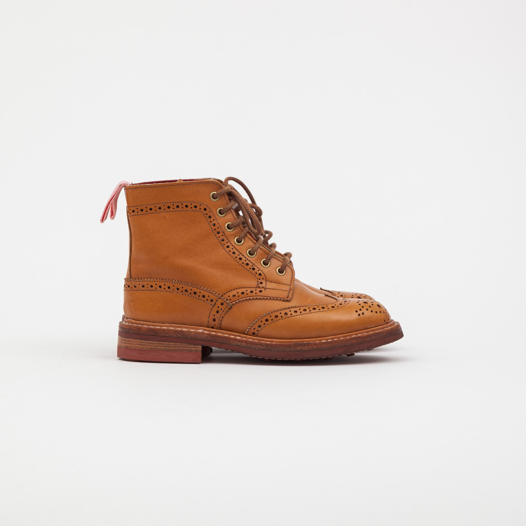 Tricker's Ladies Stow brogue Derby Boots