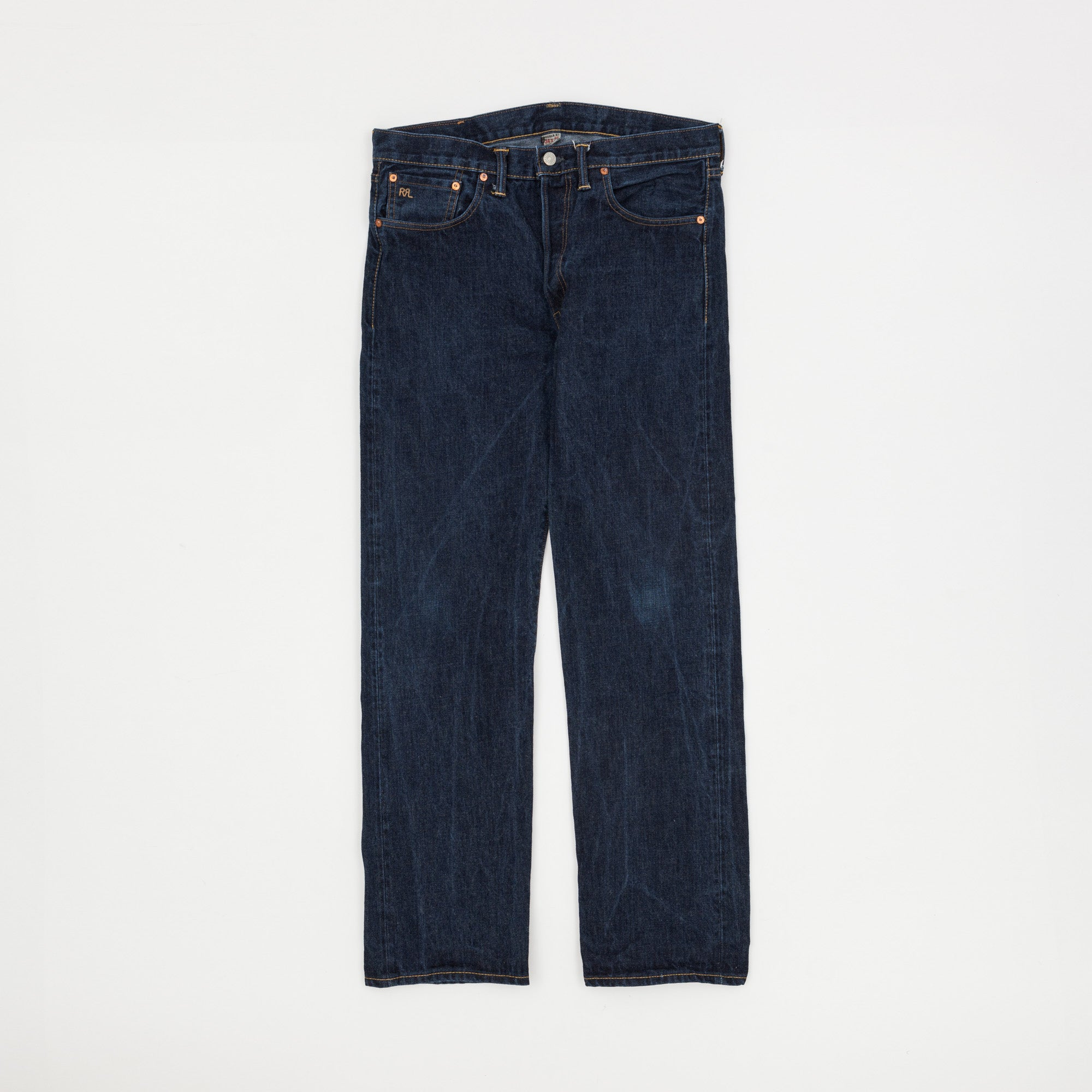 RRL Straight Leg Selvedge Denim