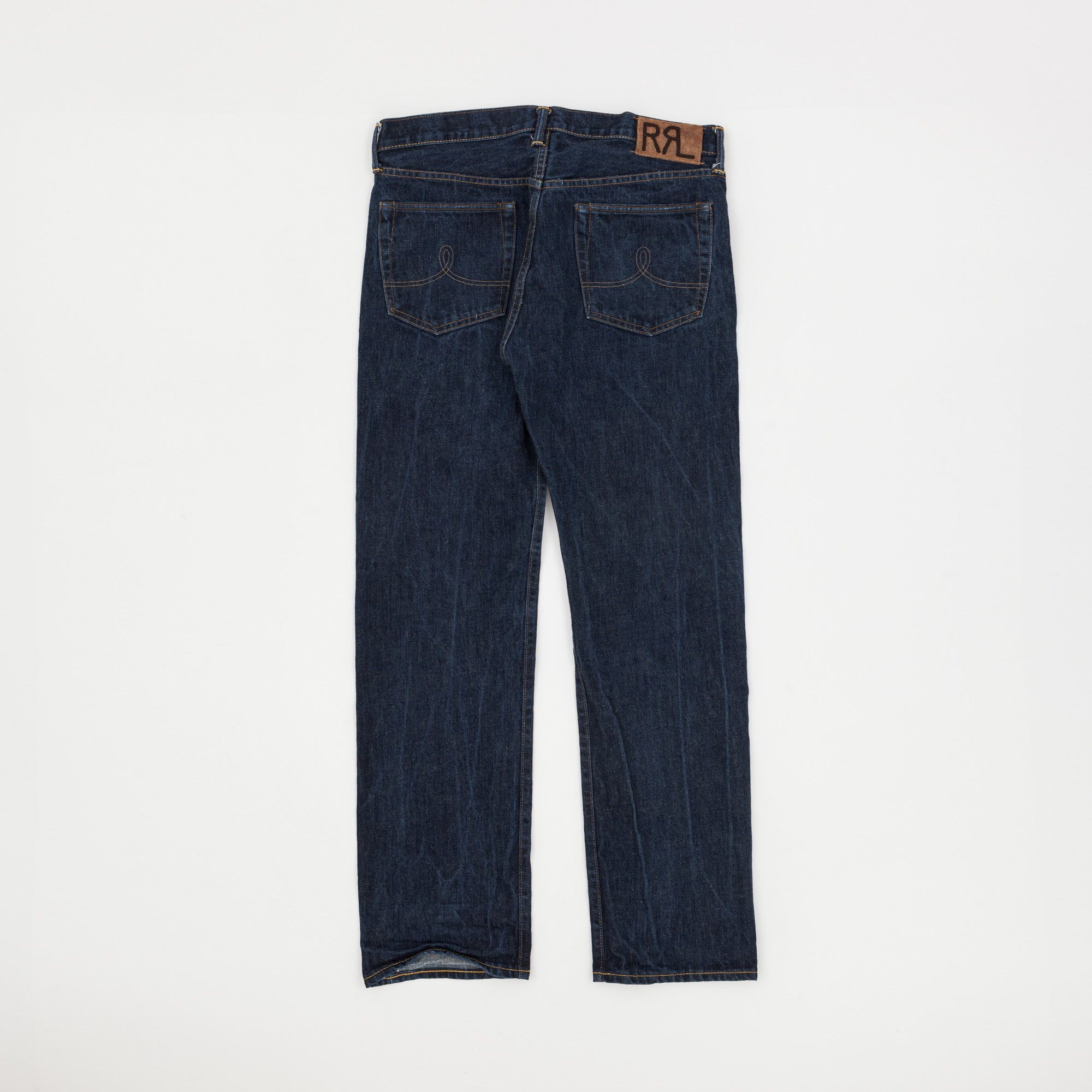 Straight Leg Selvedge Denim