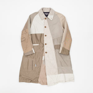 Patch Work Overcoat