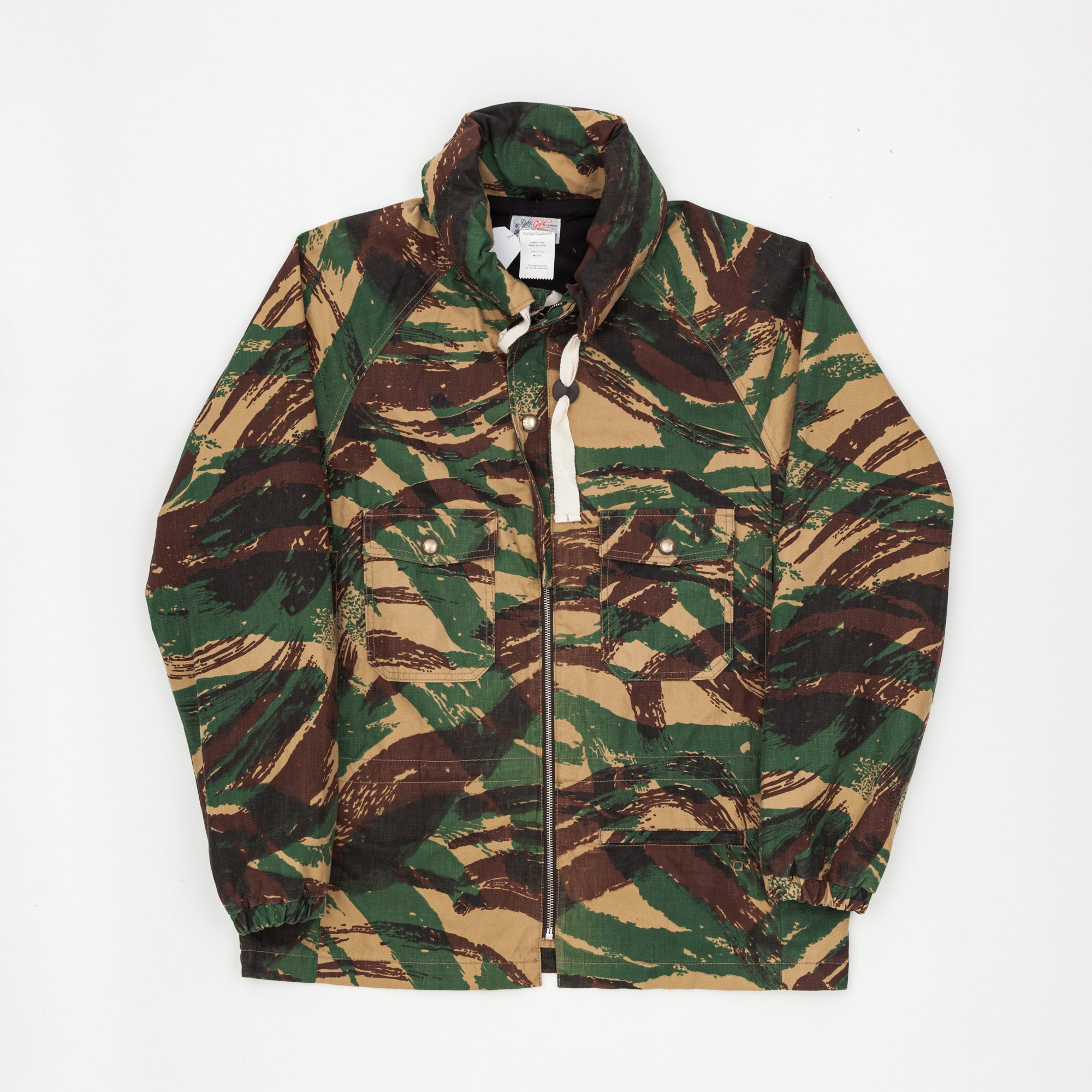 Camo Cotton Jacket