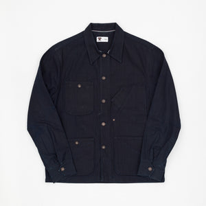 Unlined Denim Coverall Jacket