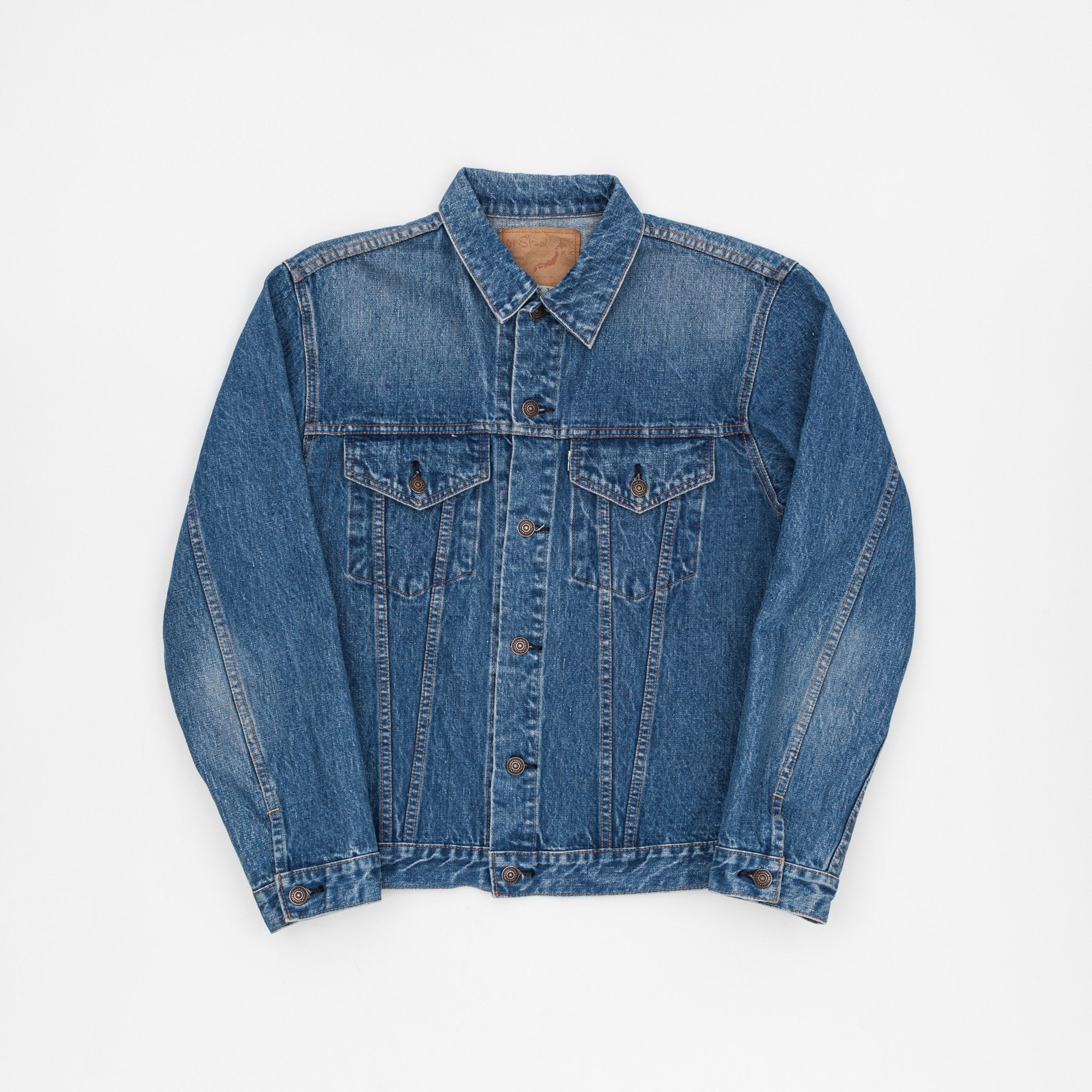 Orslow 1960s Trucker 2 Year Wash Denim Jacket