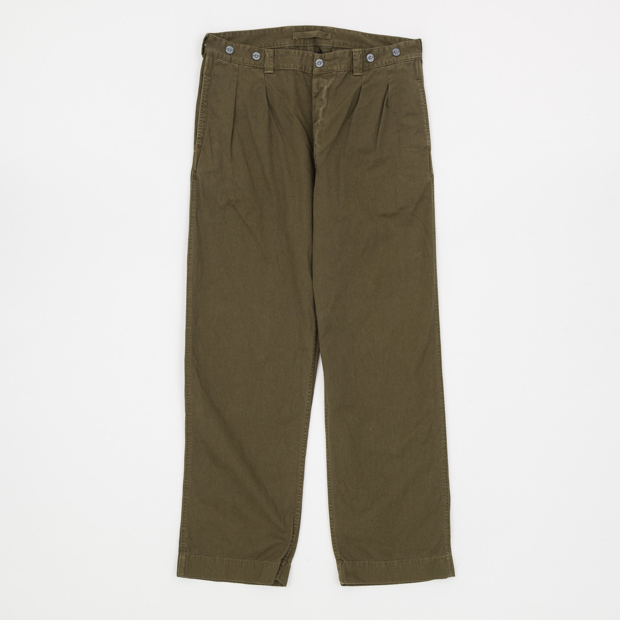 Nigel Cabourn x Lybro Army Pleated Chino