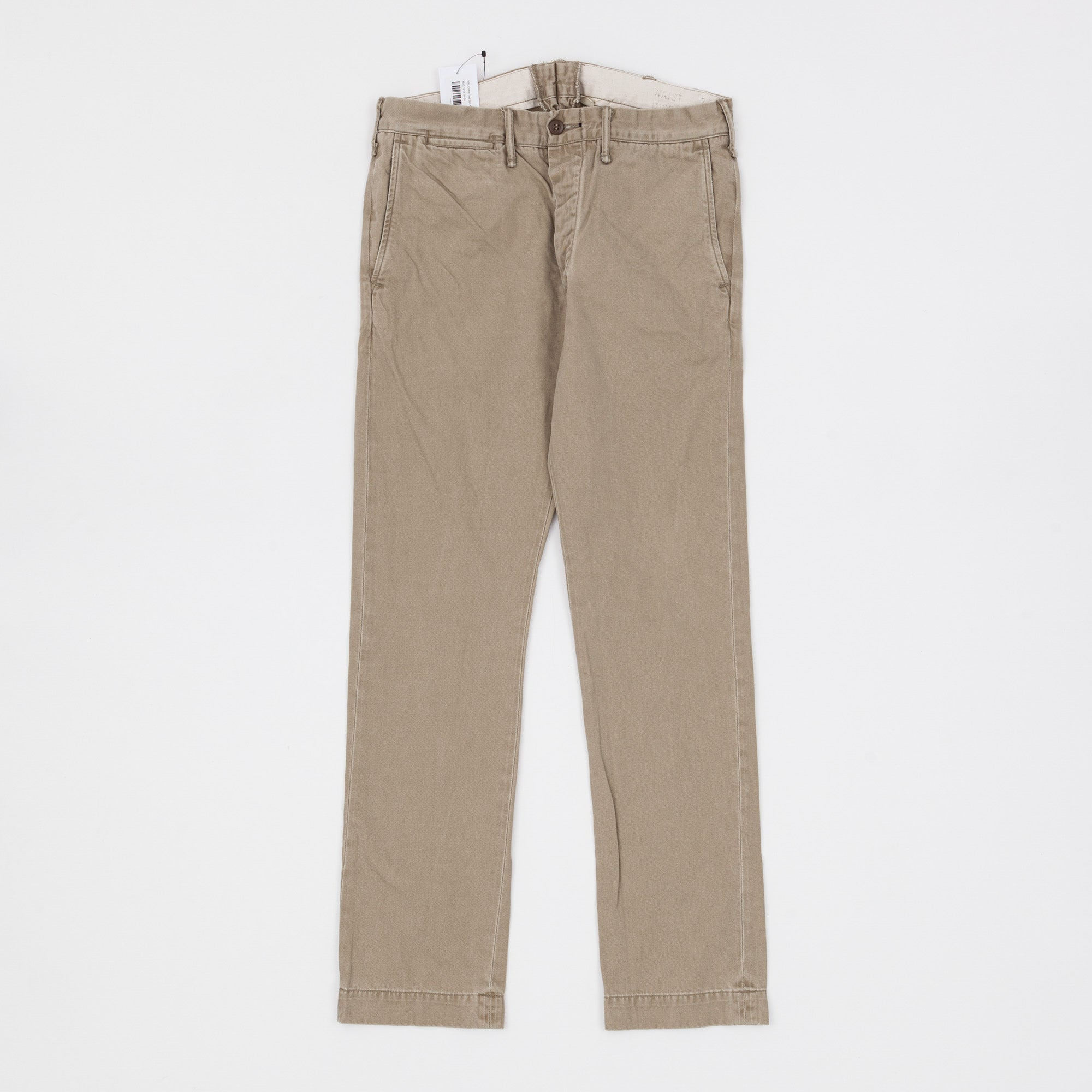 RRL Cotton Twill Slim Fit Chino