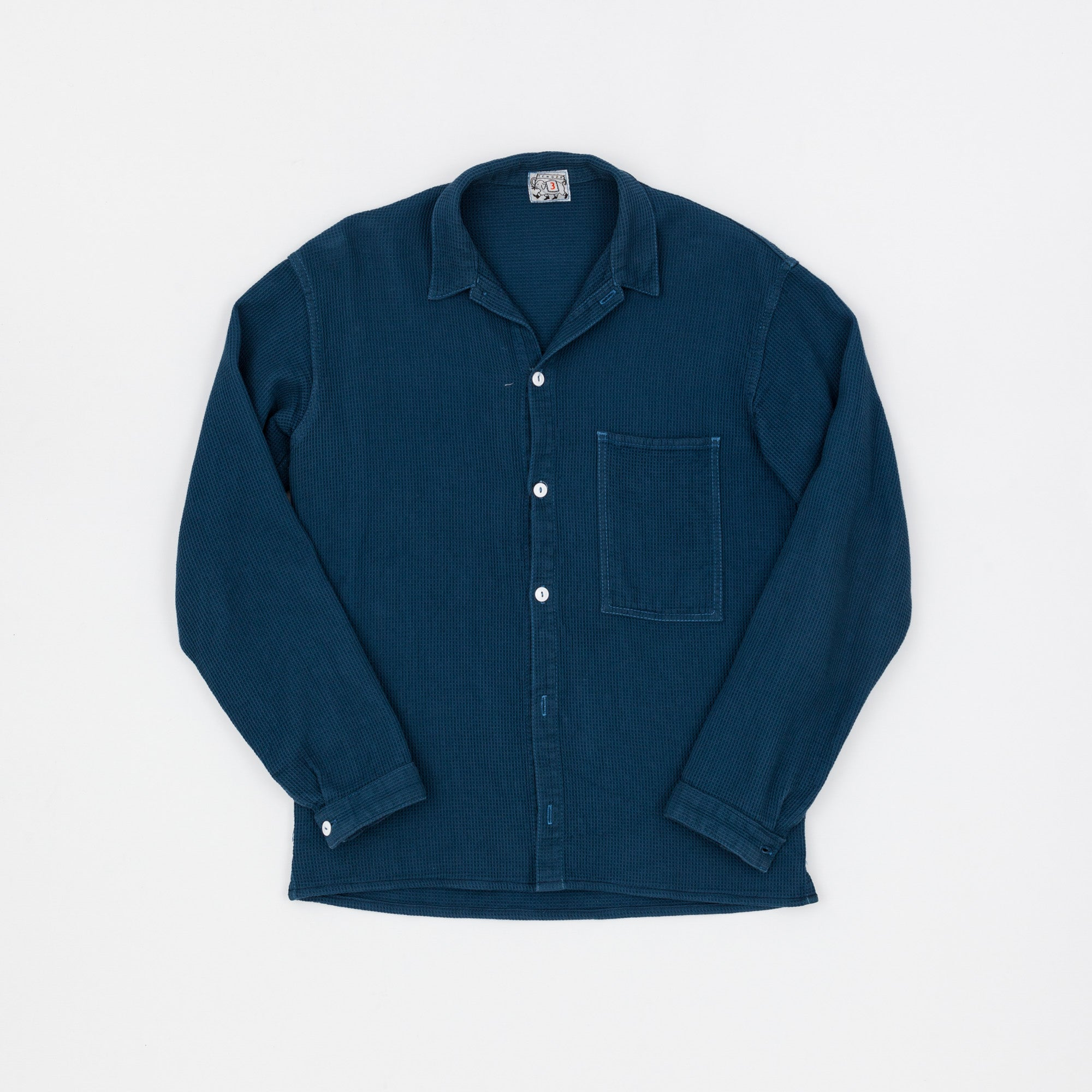 Tender Co. Woad Dyed Beerkeeper's Cloth Type 422