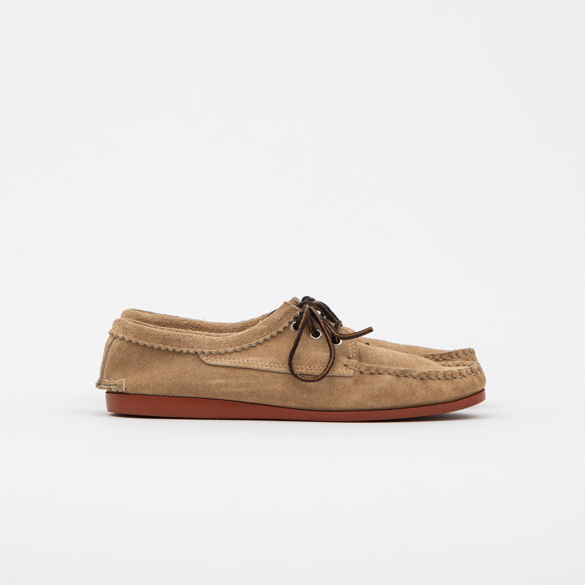 Quoddy Suede Deck Shoes