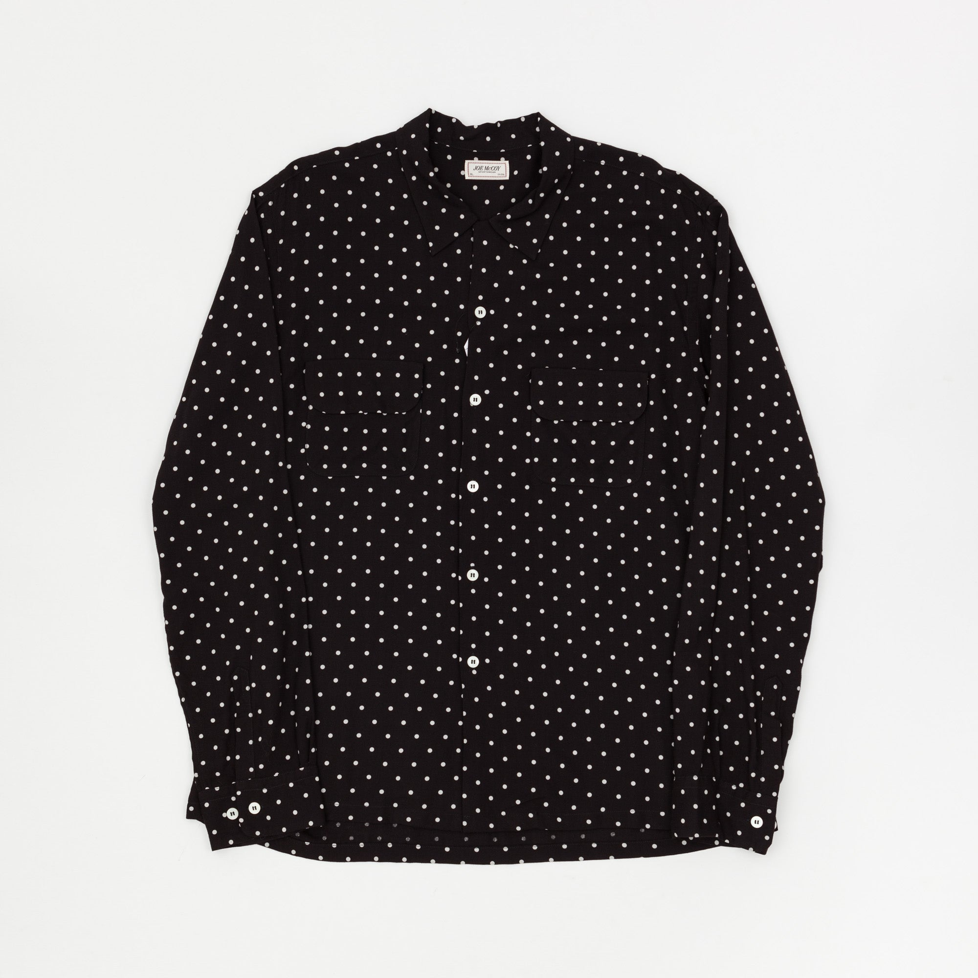 The Real McCoy's Polka Dot Rayon Shirt