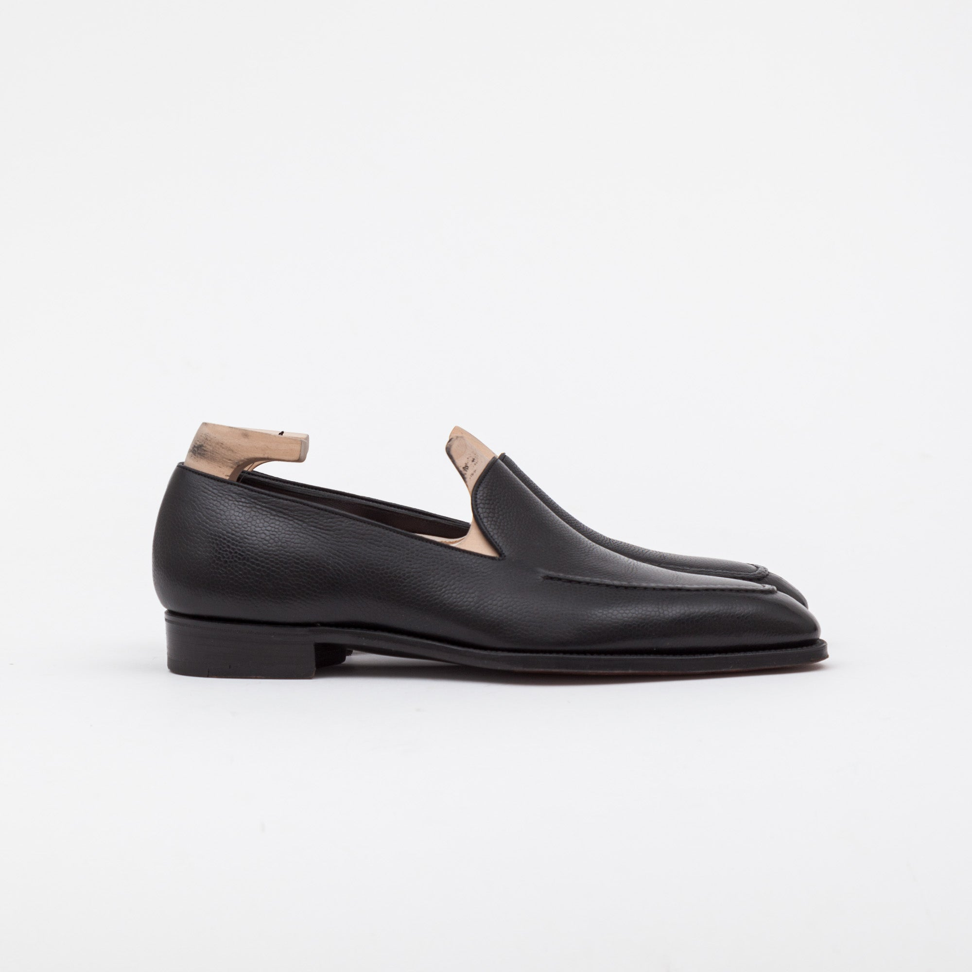 Gaziano Girling Grain Leather Amalfi Loafers