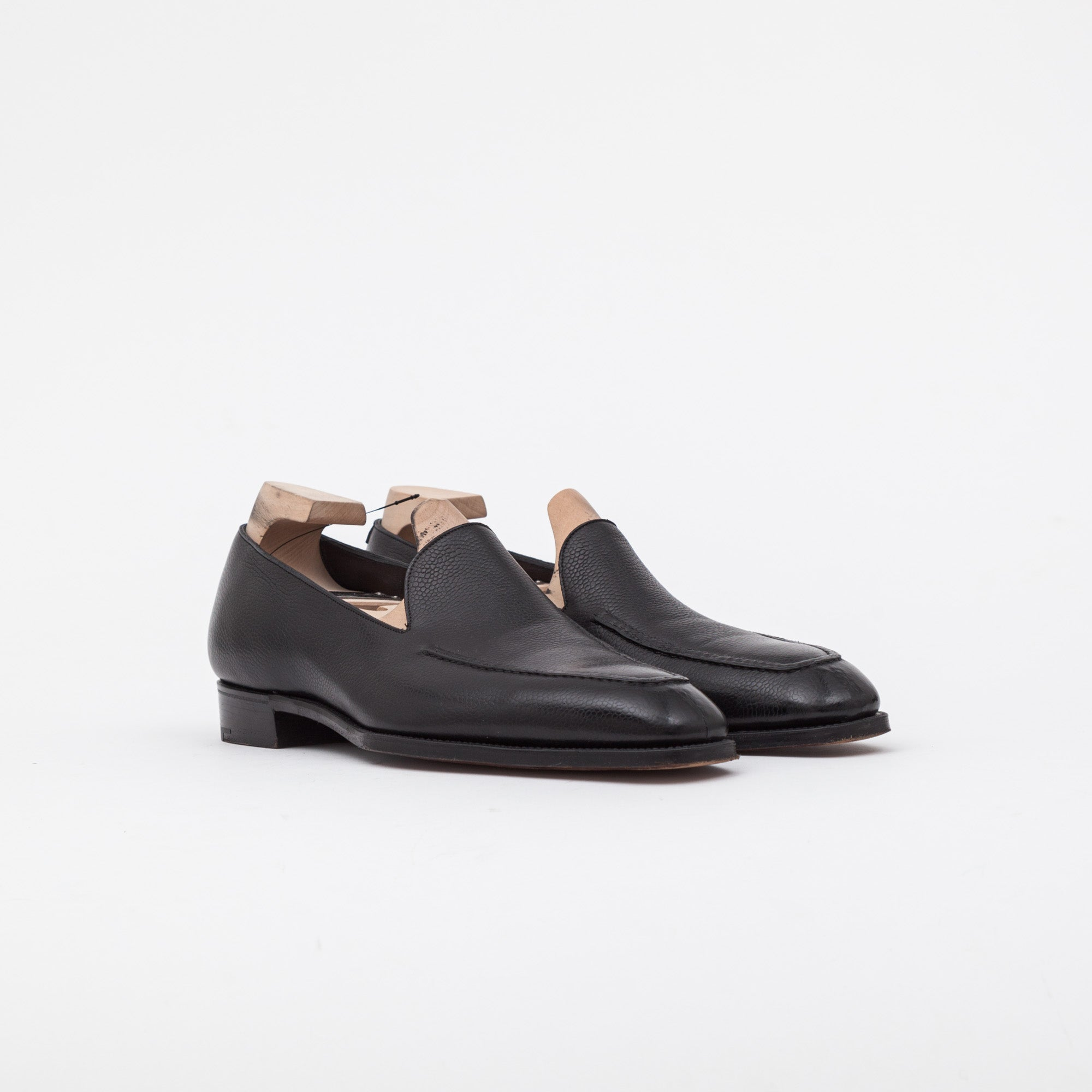 Grain Leather Amalfi Loafers