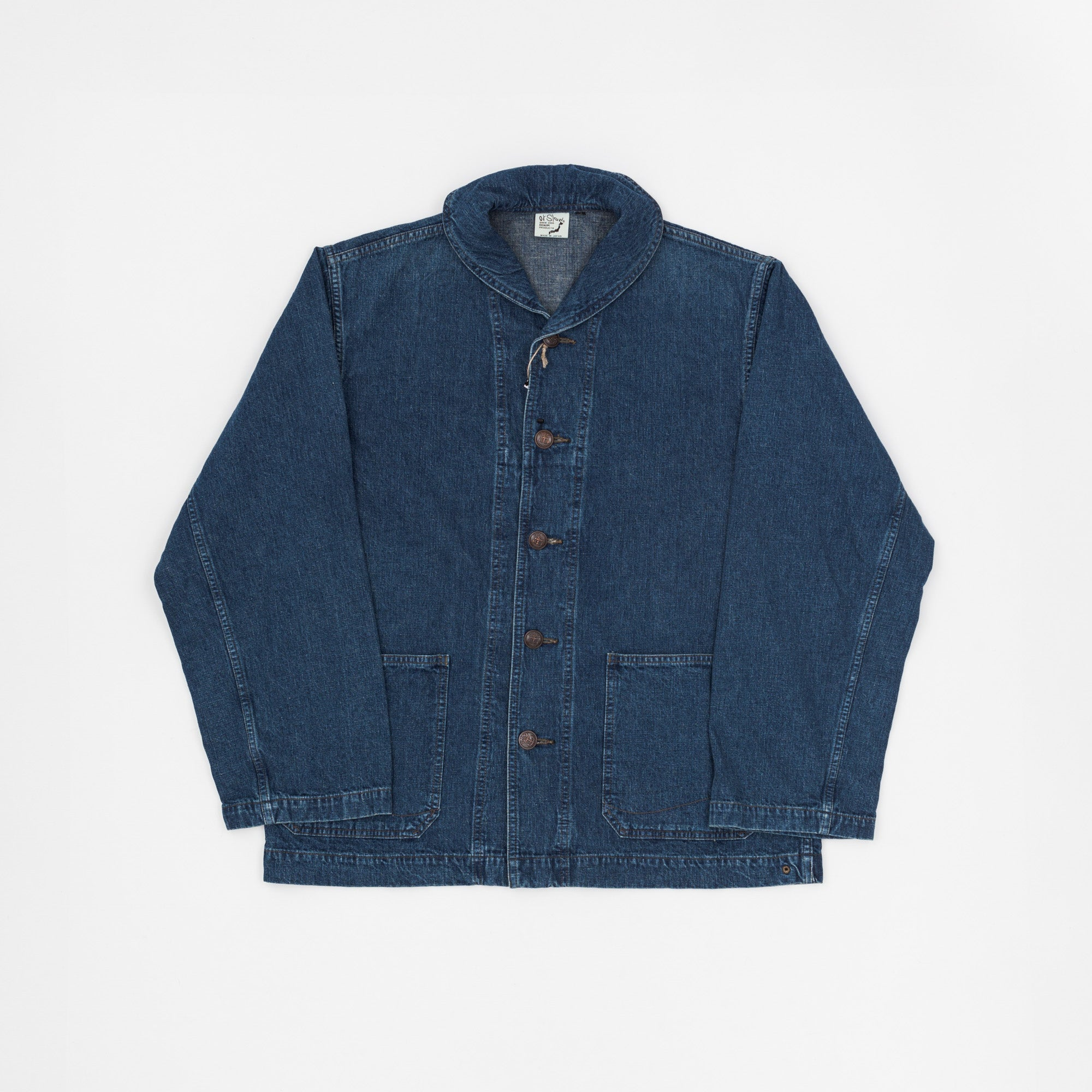 USN Shawl Neck Denim Jacket