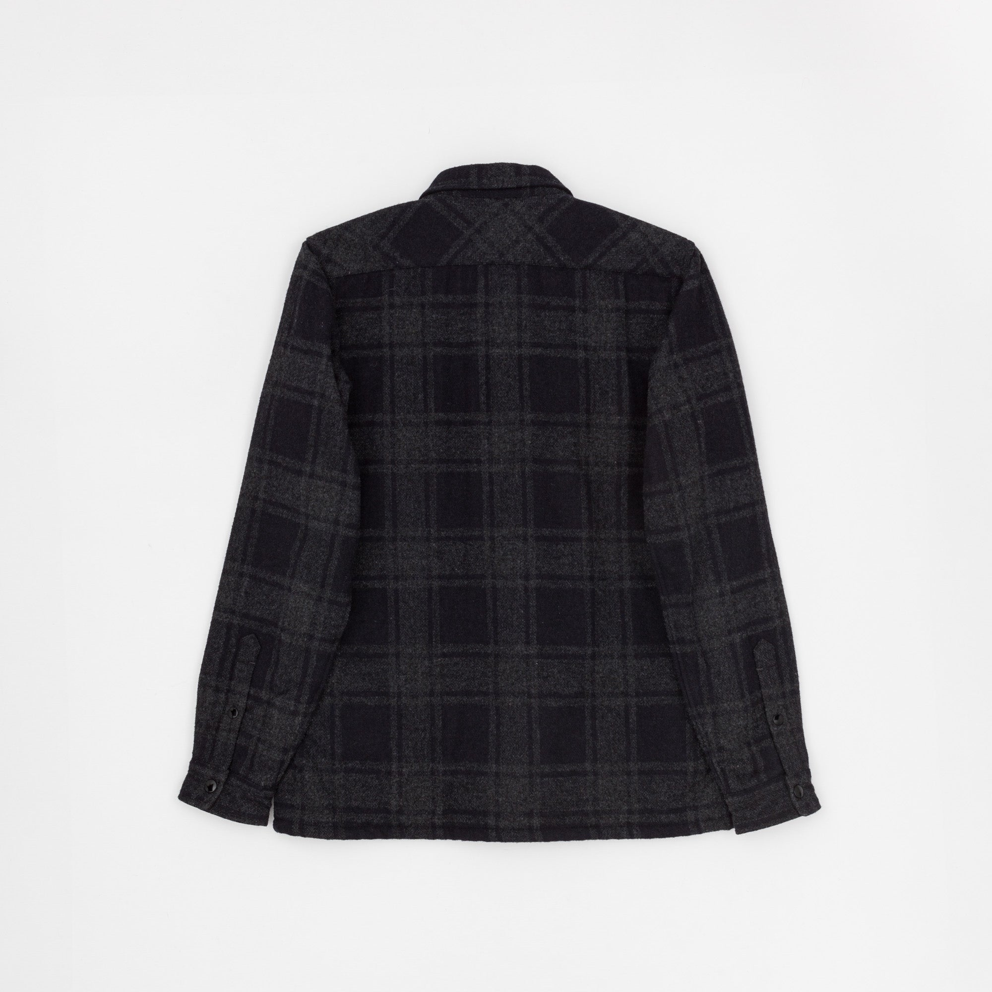 Checked Wool Shirt Jacket