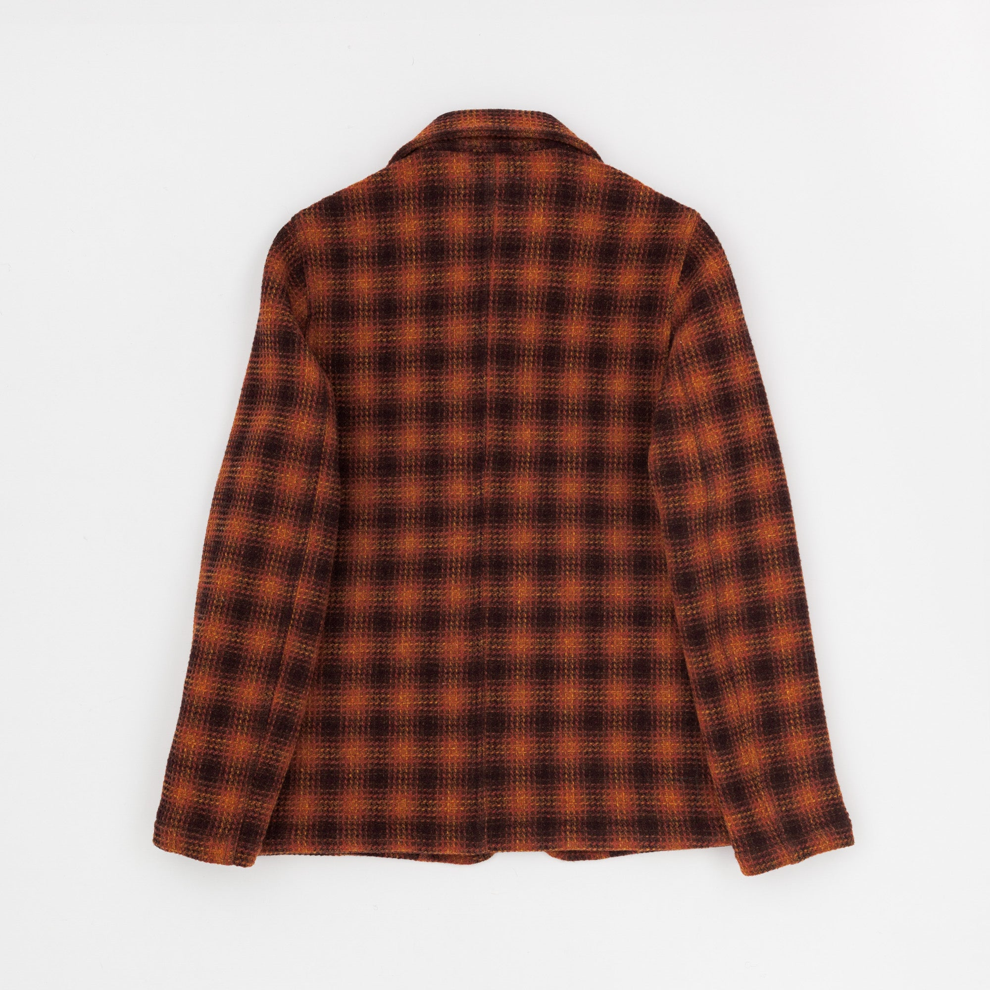 Wool Check Bakers Jacket