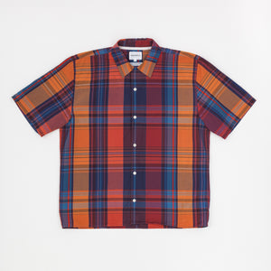S/S Carsten Madras Checked Shirt