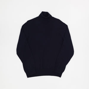 Alan Paine Merino Wool Roll Neck