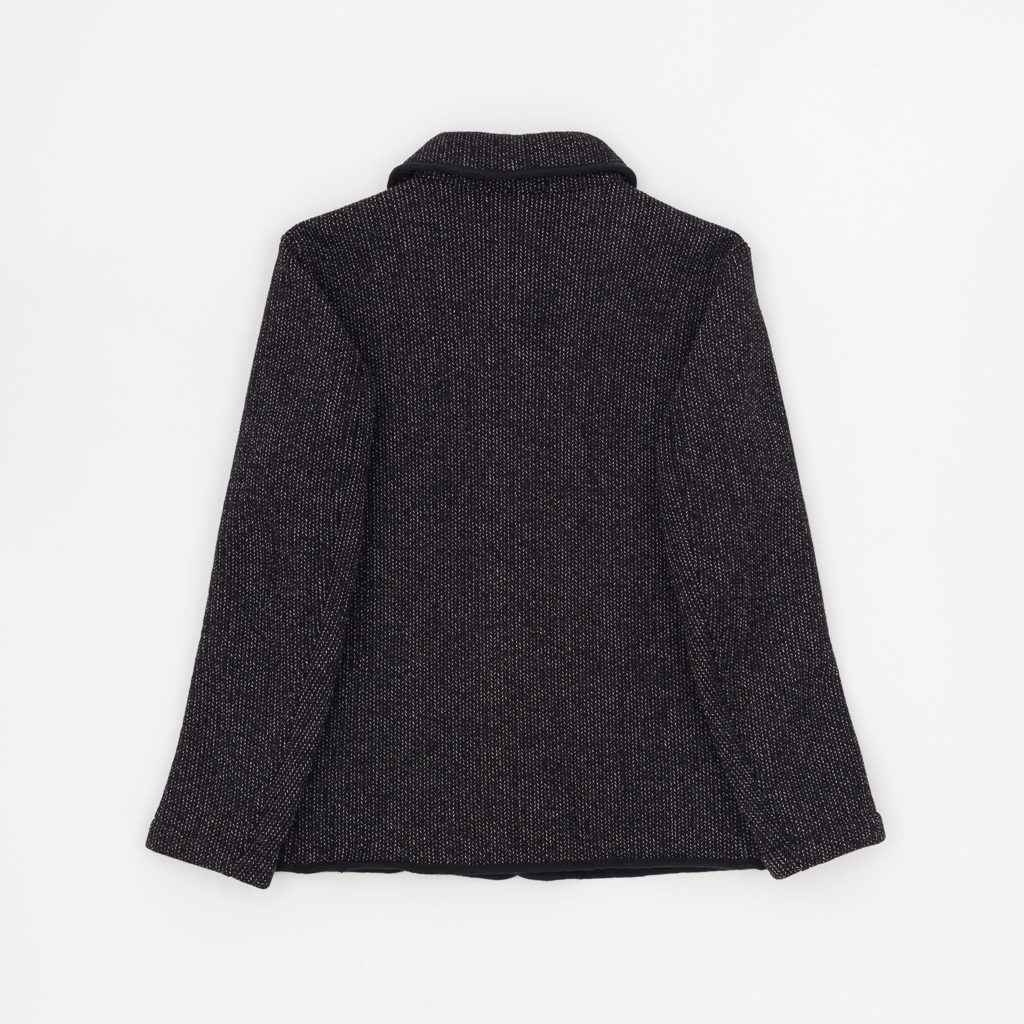 Shawl Wool Raschel Jacket