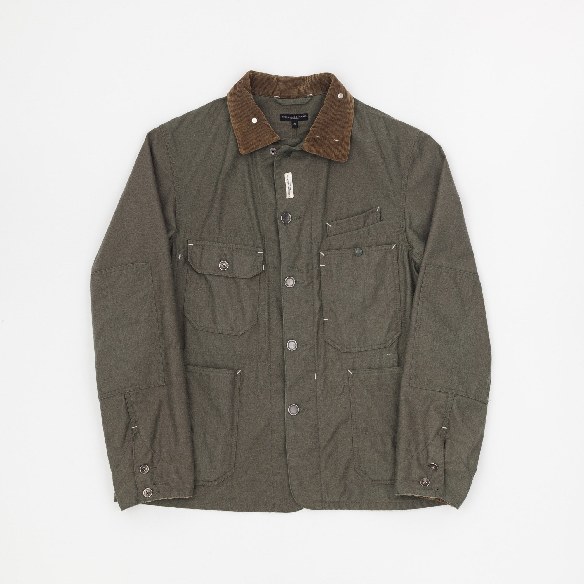 Engineered Garments Nyco Reversed Sateen Coverall Jacket