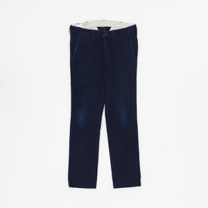 Japan Blue Cotton Chino Trousers