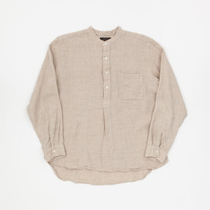 Beams Plus Band Collar Pullover