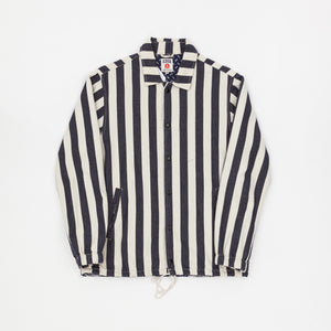 King Of Indigo Striped Jacket