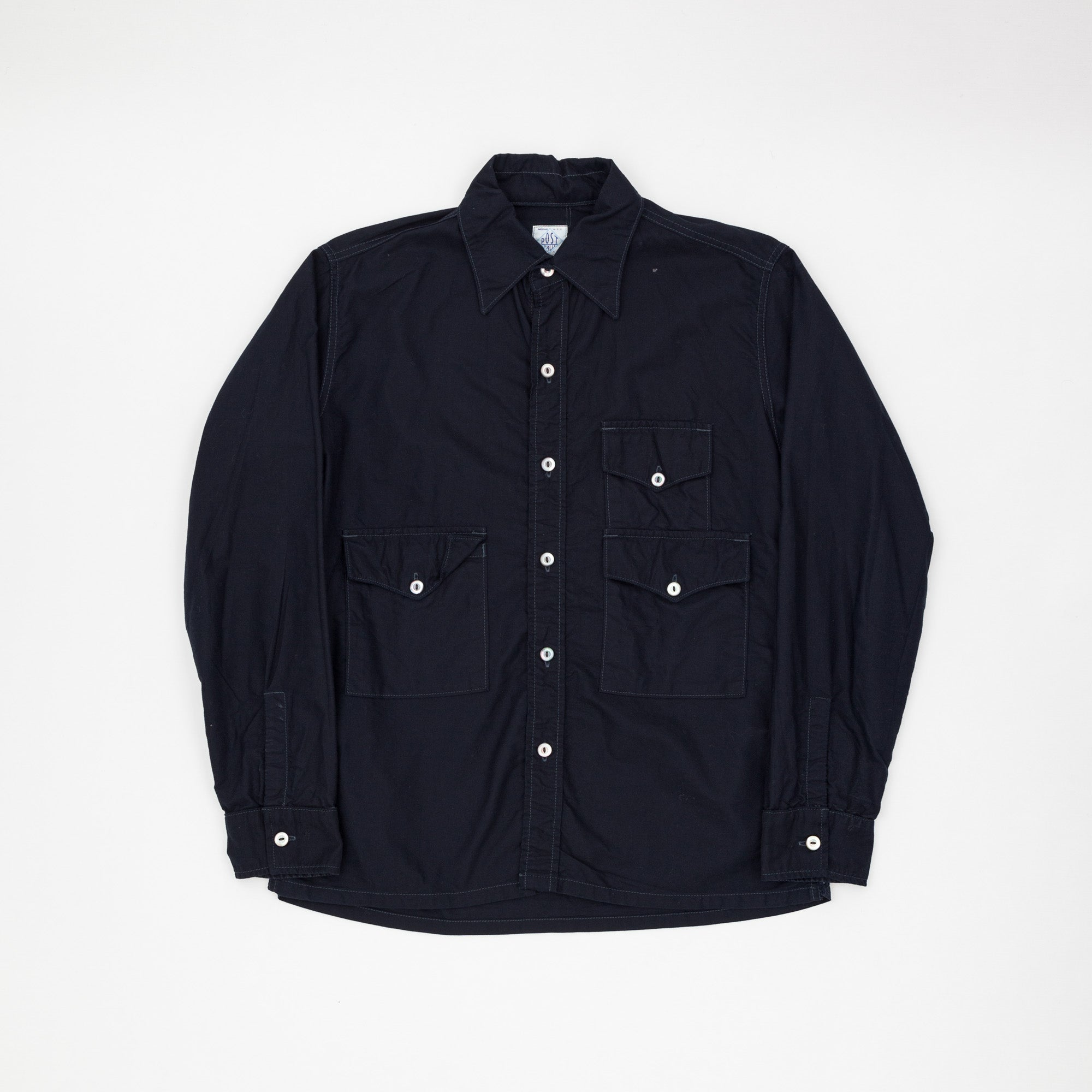 Post Overalls Cotton Utility Shirt