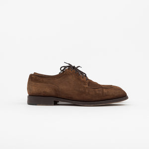 Unlined Snuff Suede Dover Shoes