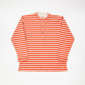 Armor Lux Striped Long Sleeve Henley