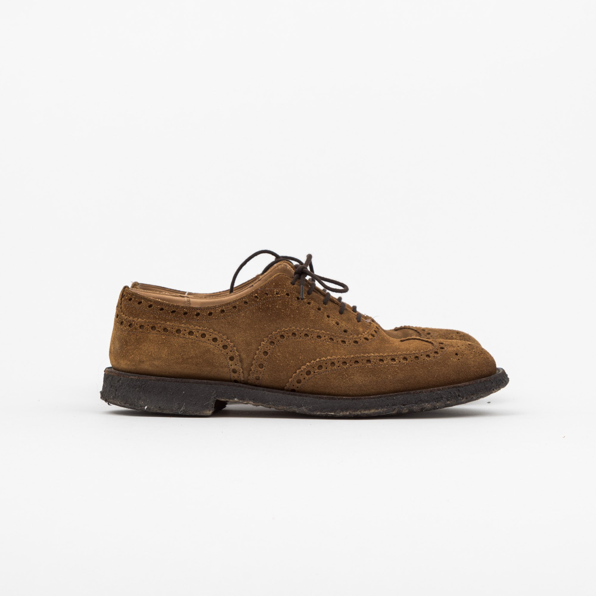 Suede Burwood Oxford Brogues
