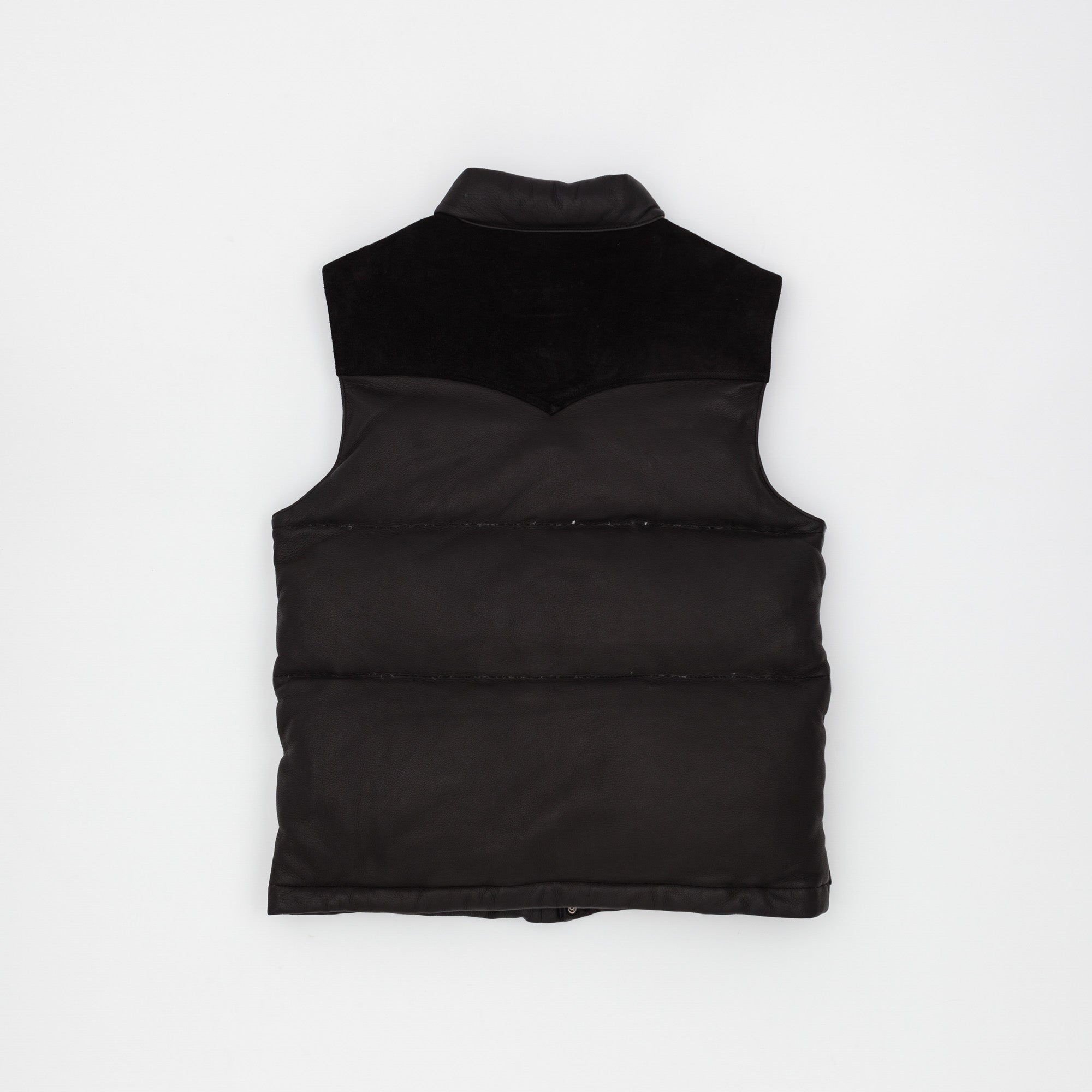 Joe McCoy Deerskin Down Vest