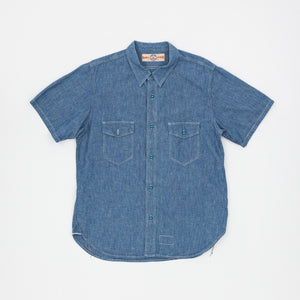 The Real McCoy's U.S Navy S/S Chambray Shirt