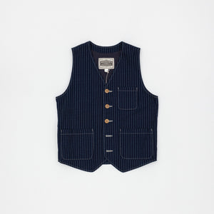 Pherrows Wabash Stripe Vest
