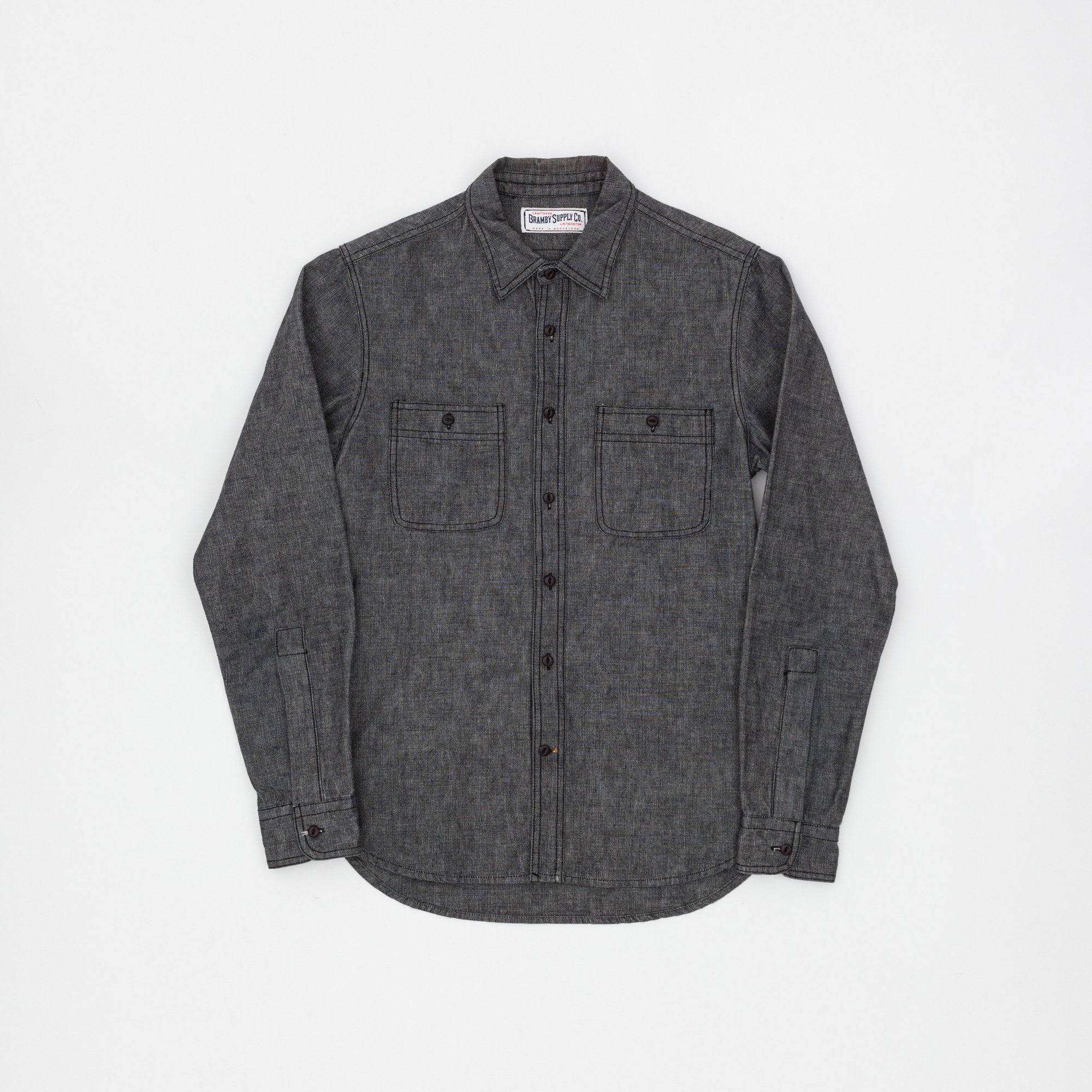 Bramby Supply Co. Chambray Shirt