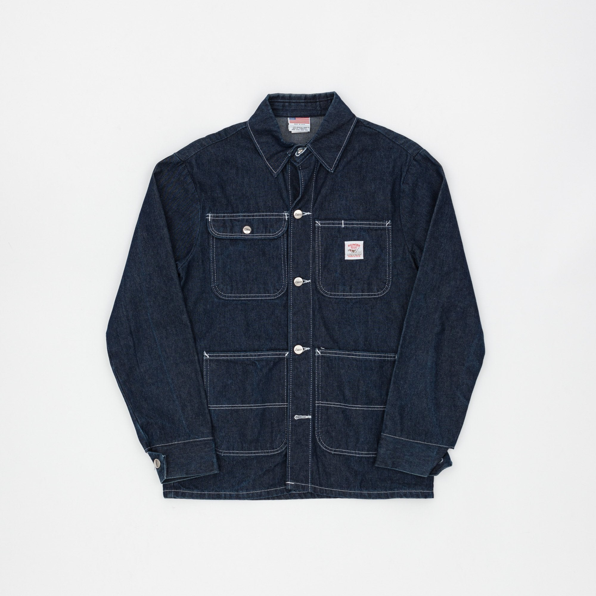 Pointer Denim Chore Coat