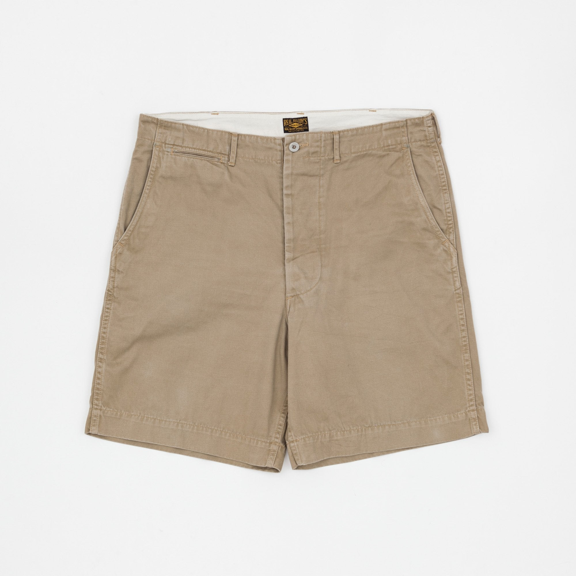 The Real McCoy's U.S. Army Khaki Shorts