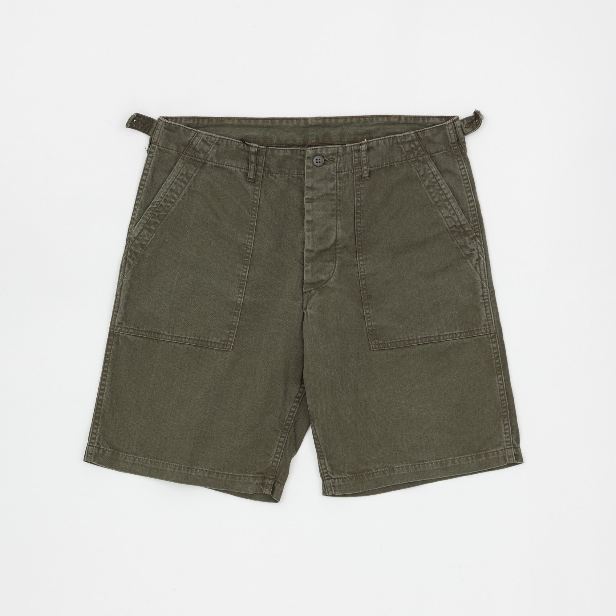 The Real McCoy's Sateen Utility Shorts