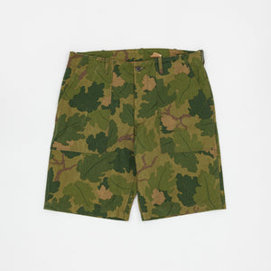 The Real McCoy's Mitchell Camo Shorts