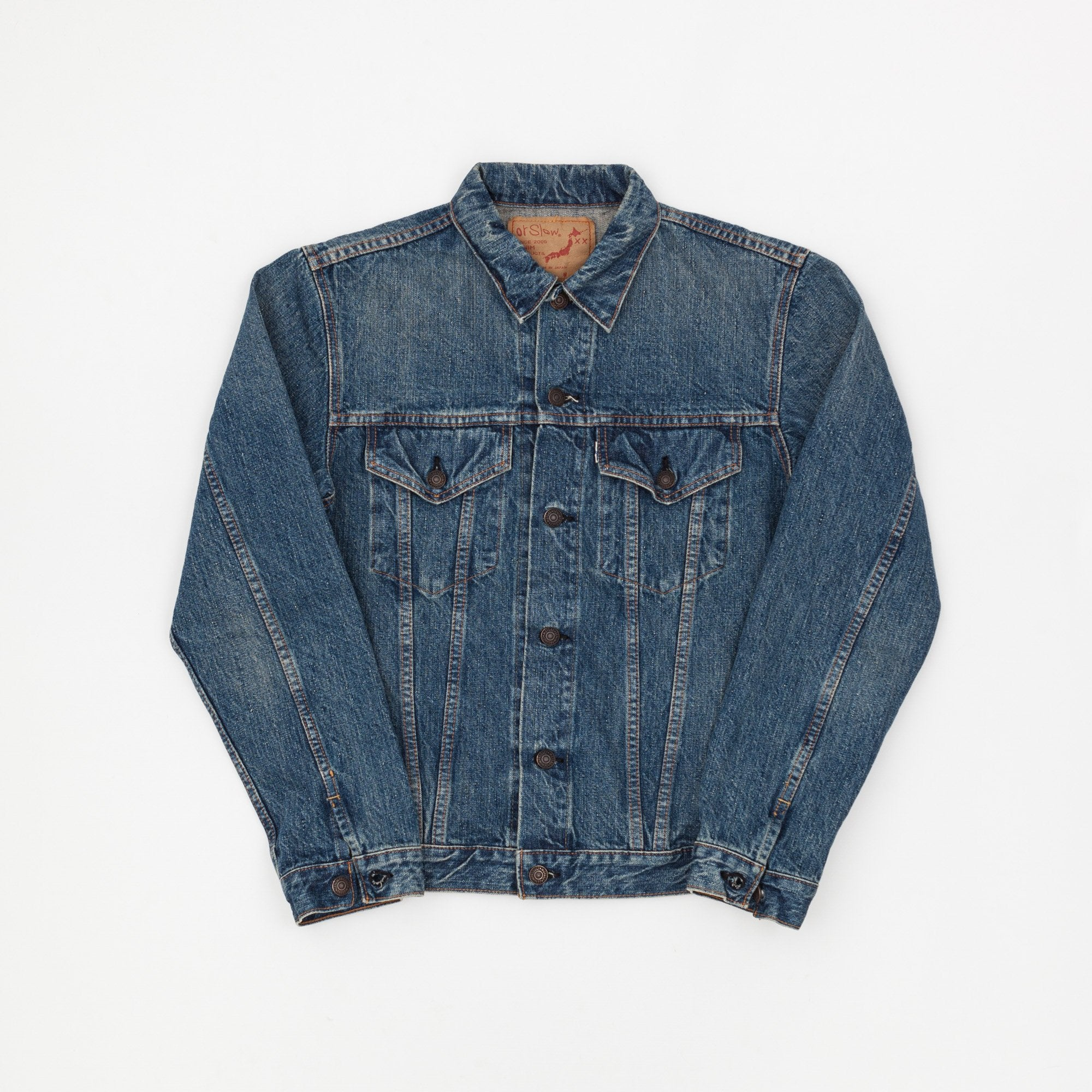 Orslow 1960s Denim Trucker Jacket