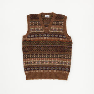 Fairisle Sleeveless Sweater