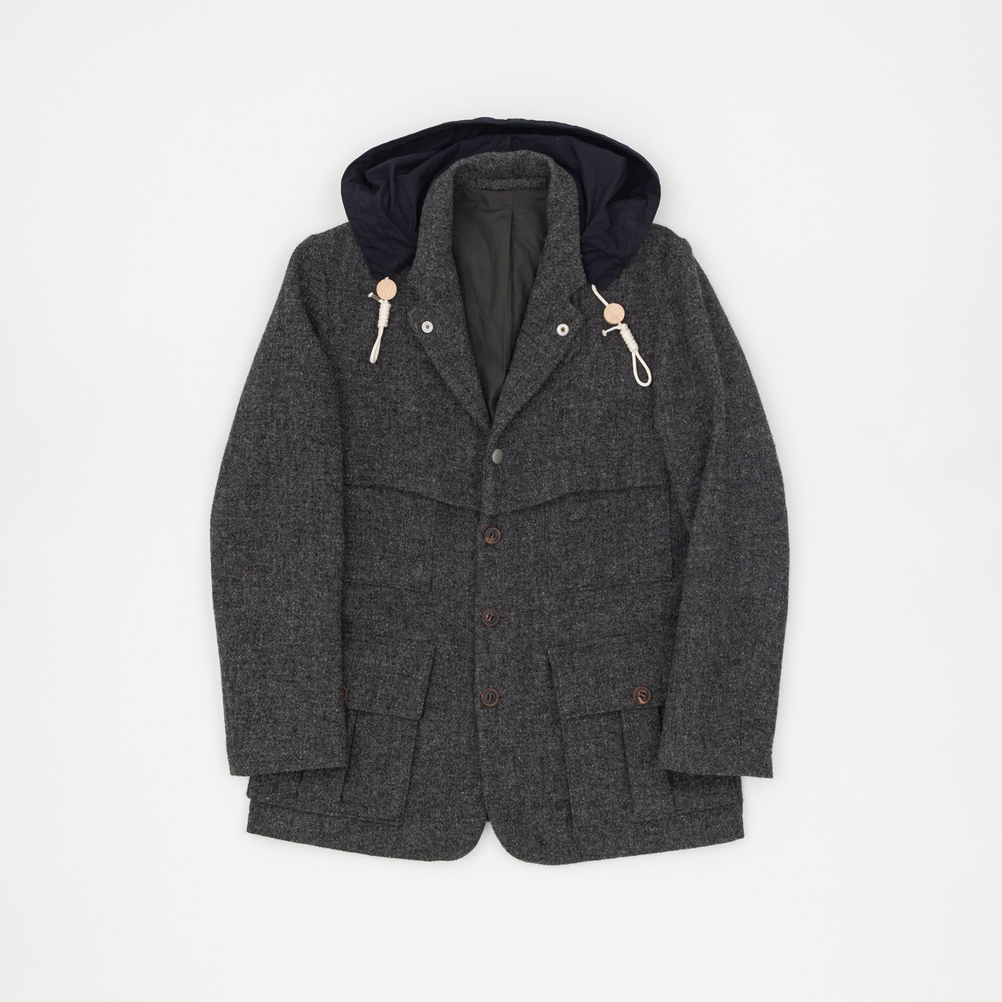 1930's Harris Tweed Ventile Sherpa Jacket
