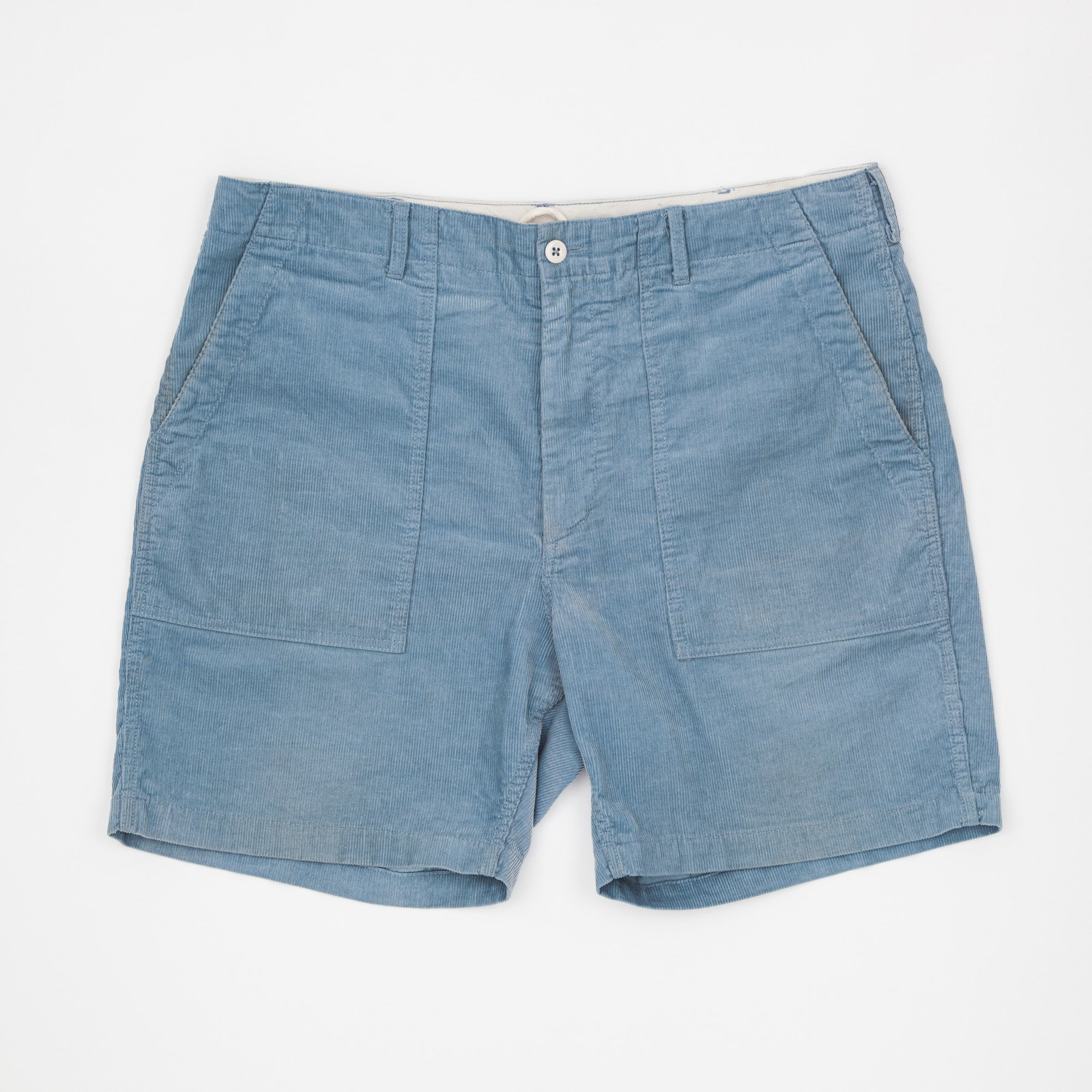 14W Cord Fatigue Shorts